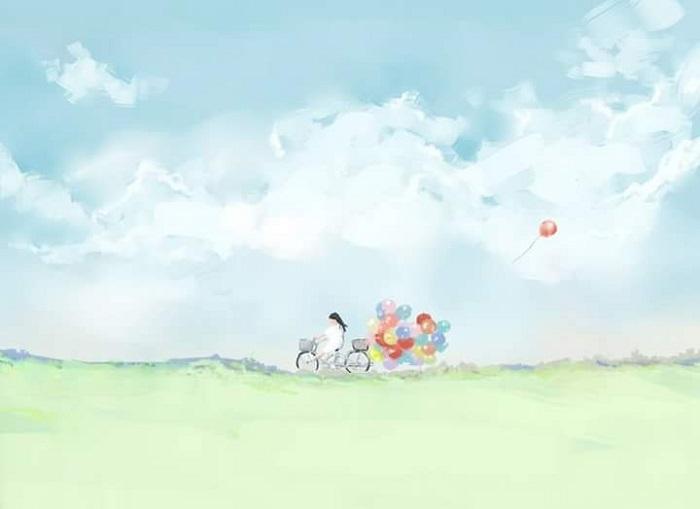 truyện Gió mang ký ức thổi thành những cánh hoa