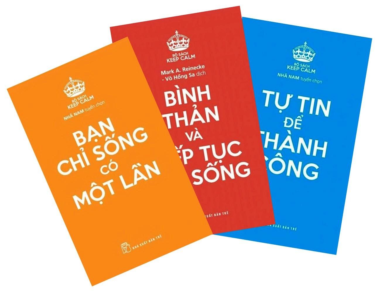 Bộ Sách Keep Calm (Bộ 3 Cuốn) - Sách của Nhã Nam tuyển chọn - GIẢM 20% |  Vinabook.com