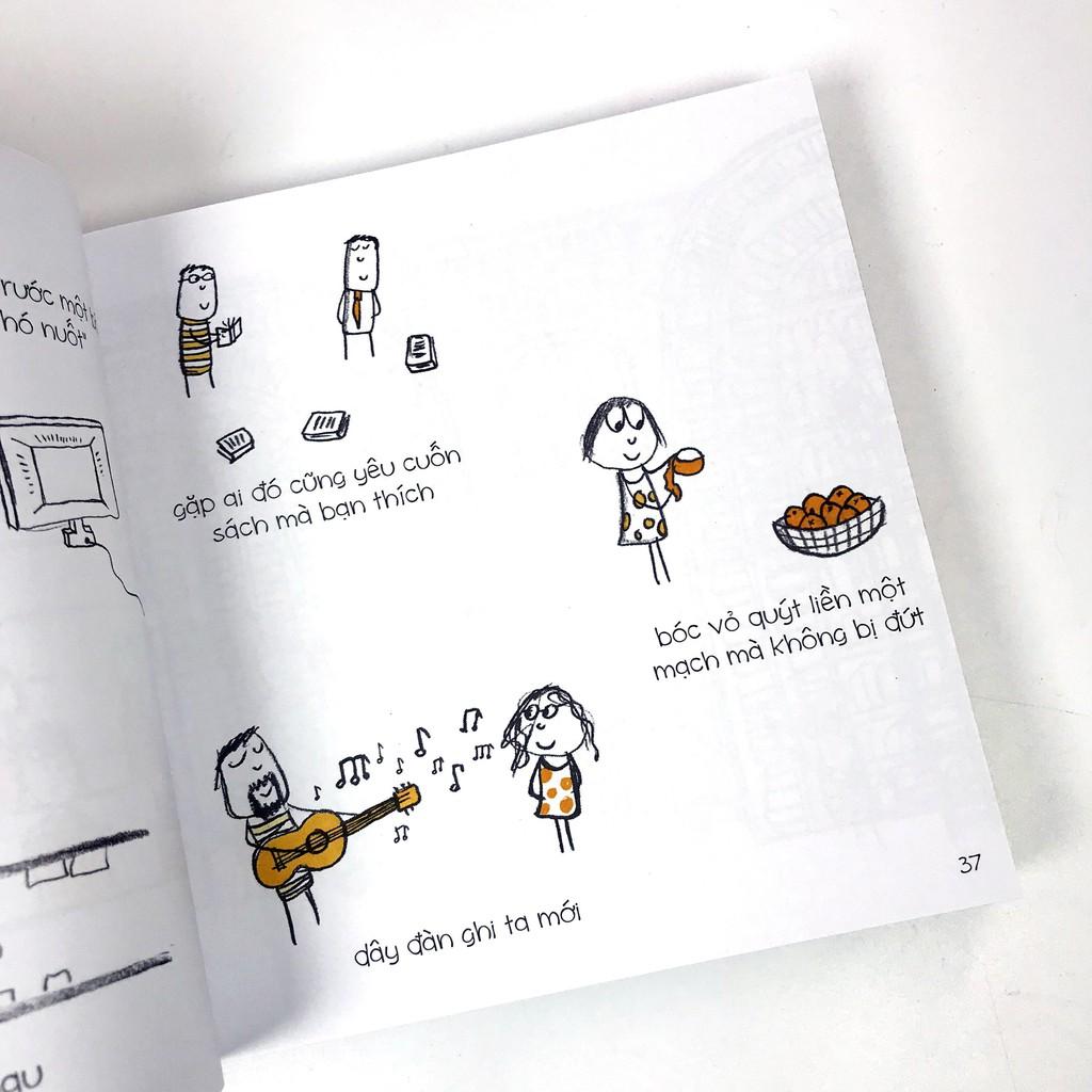 Sách - Hạnh Phúc Là…500 điều khiến bạn hạnh phúc giảm chỉ còn 99,000 đ