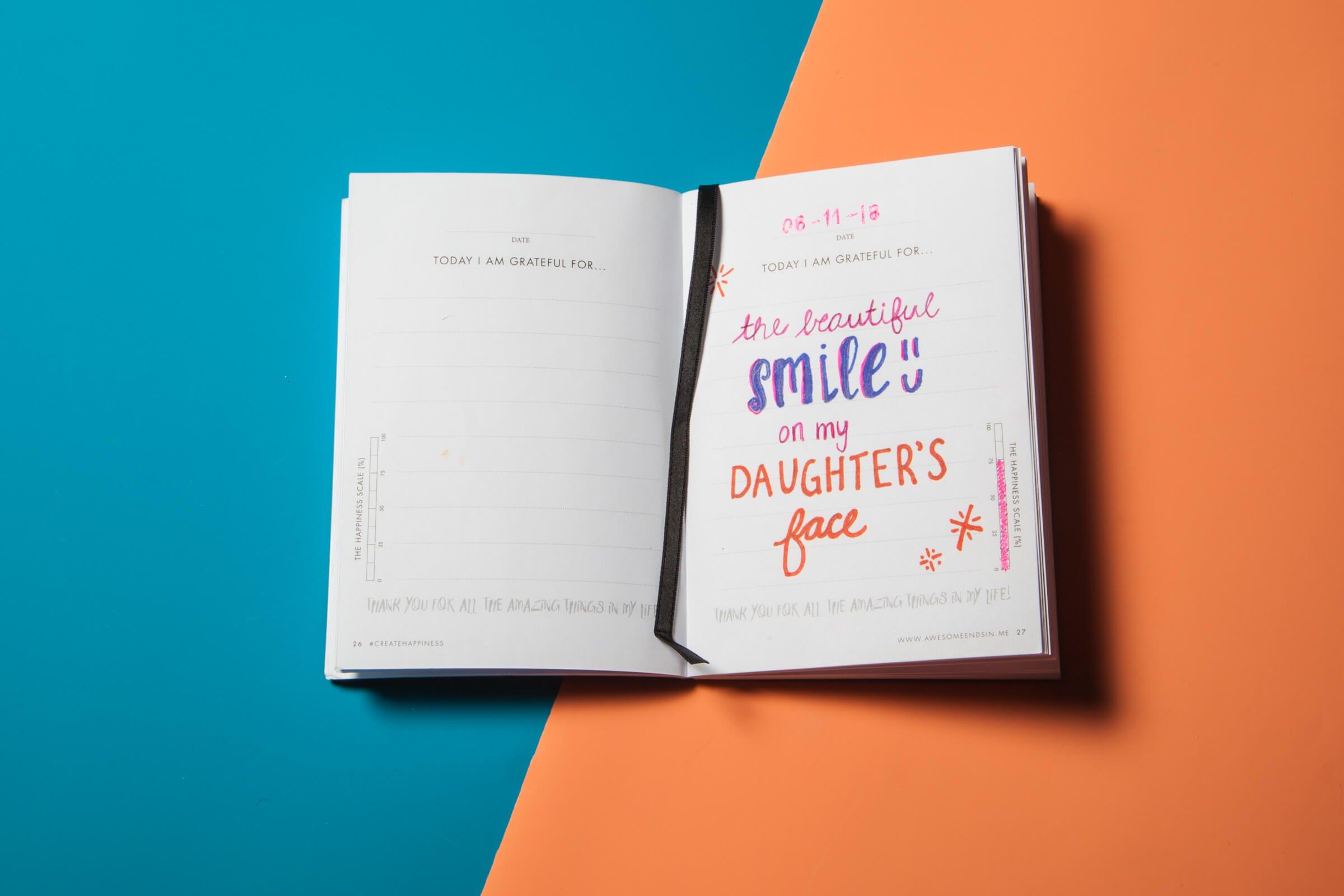 Viết nhật ký biết ơn và những điều tuyệt vời đính kèm!   Đẹp365