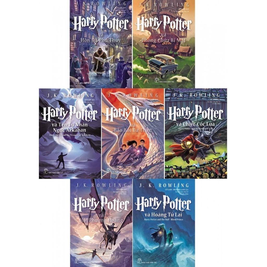 Truyện Harry Potter: Trọn bộ 7 cuốn - (Lẻ tập) | Shopee Việt Nam